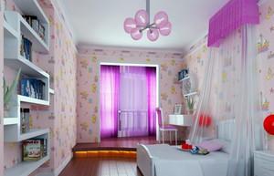 跃层精致儿童房设计装修效果图