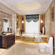 豪华的卫生间设计实例