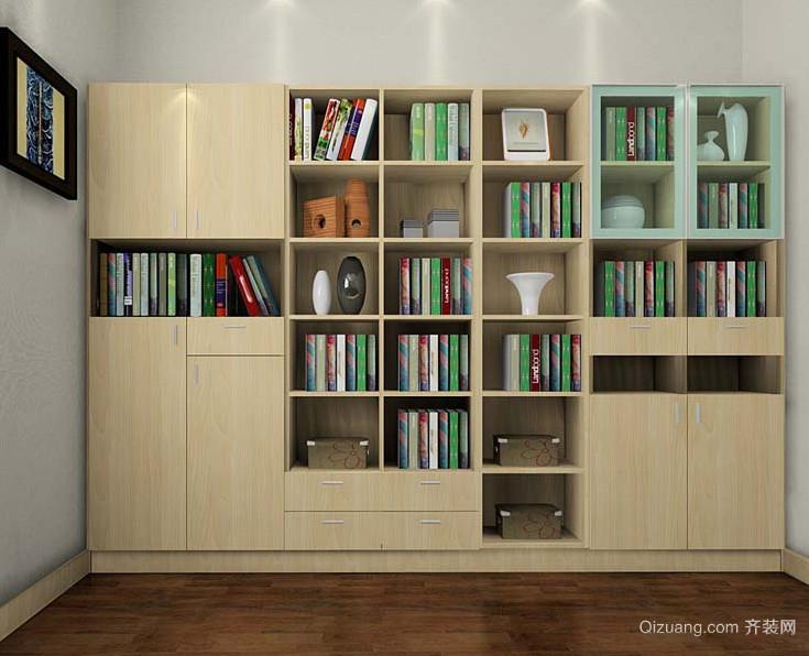精致时尚的小户型书房书柜装修效果图鉴赏