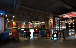 2016清新风格酒吧设计装修效果图