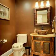 美式风格卫生间浴室柜装饰
