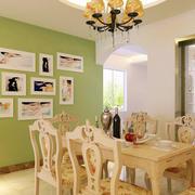 清新风格照片墙装饰