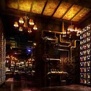 东南亚风格酒吧装修装饰设计效果图