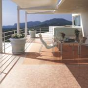 现代欧式别墅型阳台装修效果图实例