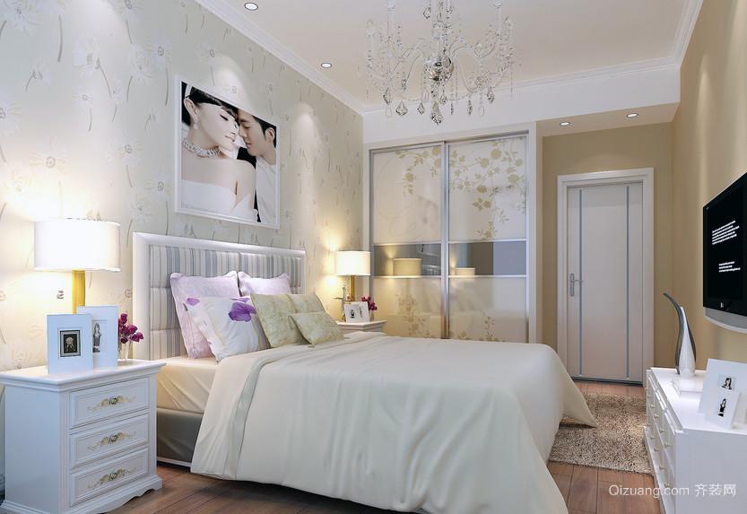 1室一厅现代式40平米小户型卧室装修