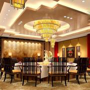 豪华型餐厅效果图片