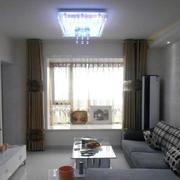 冷色调两房一厅图片