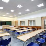 都市现代小学班级教室布置图片