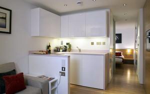 50平米单身公寓小厨房装修设计效果图