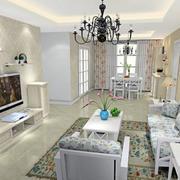 欧式风格两房一厅图片