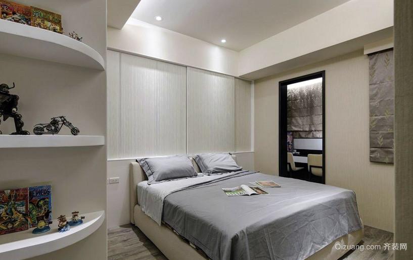 简约80平米家装卧室效果图片大全
