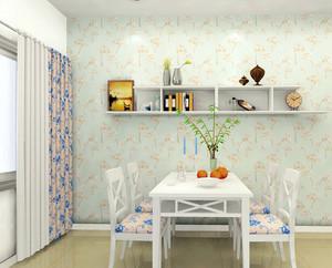 韩式清新小户型家装餐厅效果图片大全