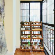 简约一居花架式8平米小户阳台装修效果图