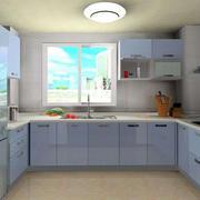 别墅宜家风格家庭厨房装修效果图