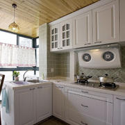 宜家简约小户型厨房装修设计效果图