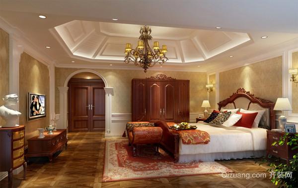2016别墅豪华型卧室装修效果图