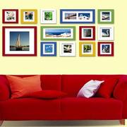 温馨型照片墙装修