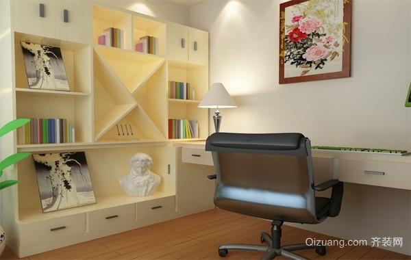 90平米大户型精致的现代书房装修效果图鉴赏