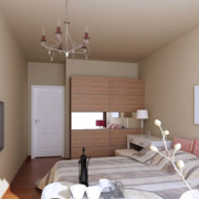 2016现代唯美的大户型轻松简约式卧室装修效果图