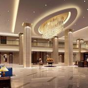 豪华系列商务酒店装修效果图
