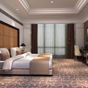 200平米商务酒店装修效果图