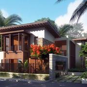 现代时尚房屋设计