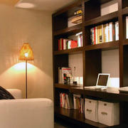 唯美的书房灯光设计