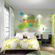 轻快现代家装儿童房效果图片大全