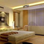 现代卧室飘窗图