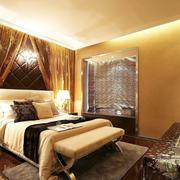 暖色调卧室设计图片