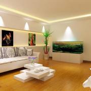 两房一厅客厅图片