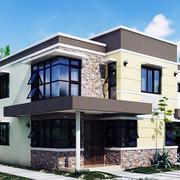 精美的别墅设计造型图