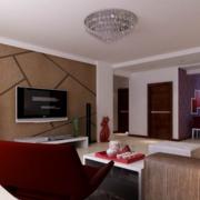 2016欧式大户型硅藻泥电视背景墙装修效果图鉴赏
