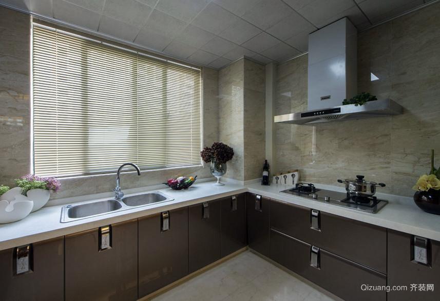 128平米唯美型家庭厨房装修效果图