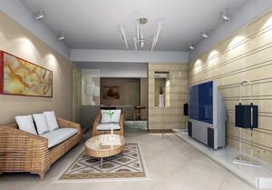 朴素现代家装小客厅效果图片大全