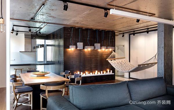 2016内部简洁公寓装修效果图