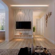 温馨小户型家装电视背景墙效果图