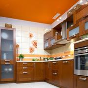 暖色调厨房设计大全