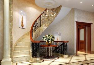 大户型居家必备室内楼梯设计效果图