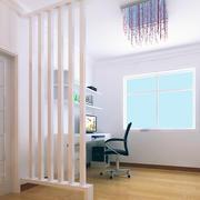 纯白色调书房设计