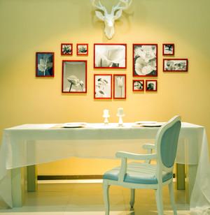 别墅精心打造照片墙设计效果图