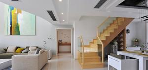 110平米阳光系列室内楼梯设计效果图