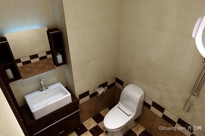 复式楼简约风格卫生间装修效果图