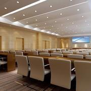 超大型豪华都市会议室装修布置效果图