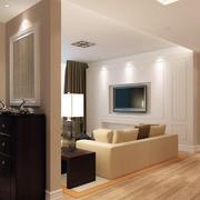自然风格客厅设计图片