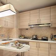 朴素70平米公寓小厨房装修设计效果图