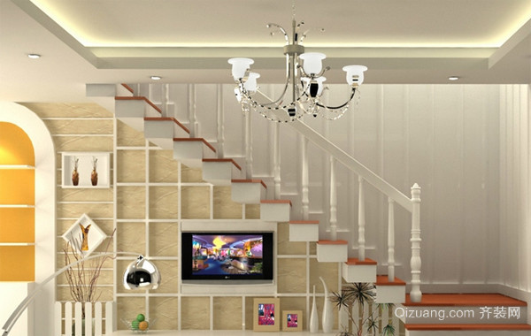 独具特色风格两房一厅户型装修效果图