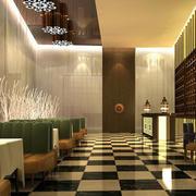 8层精致商务酒店装修效果图