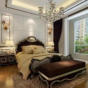 2016古典欧式小户型家装卧室案例