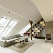 阁楼地板砖效果图片